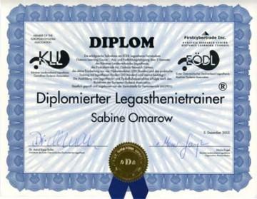 Diplomierte Legasthenietrainerin Sabine Omarow