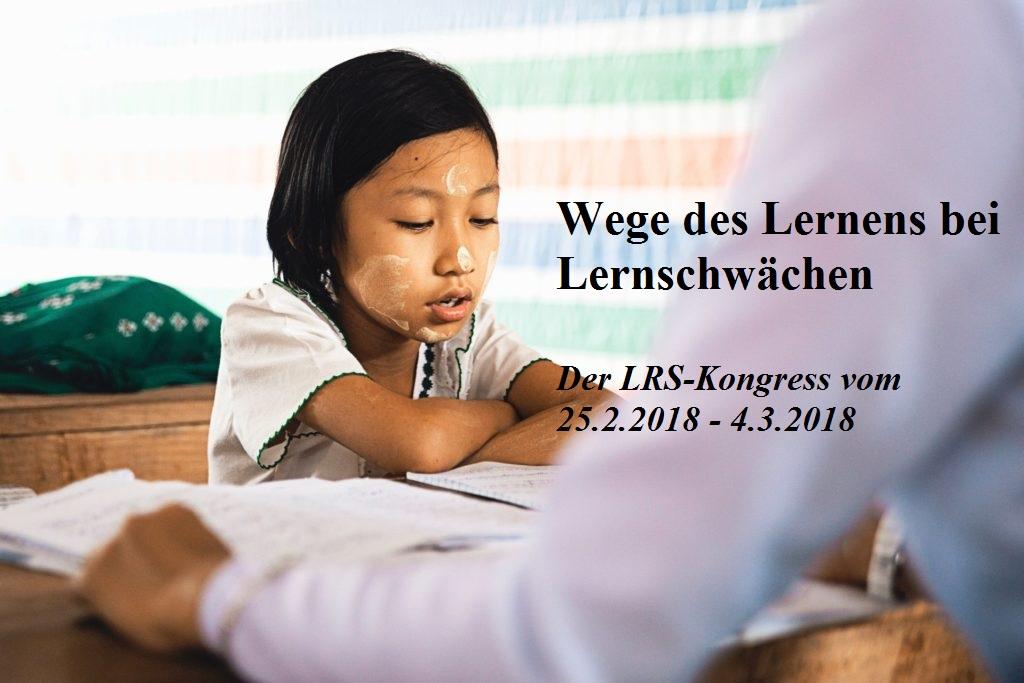 Der erste LRS-Kongress, der im Internet stattfindet.